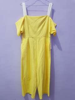 Yuan jumpsuit yellow
