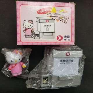 MTR hello kitty 地鐵 坐枱燈