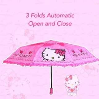 HK auto umbrella w/ raffles