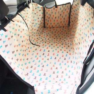 [Instock] Pet car seat protector, car rear seat cover