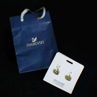 Authentic Swarovski Earrings