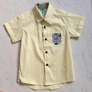 $10 Collared Short Sleeve Shirt little qipao owl