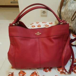 Coach pebble small lexy