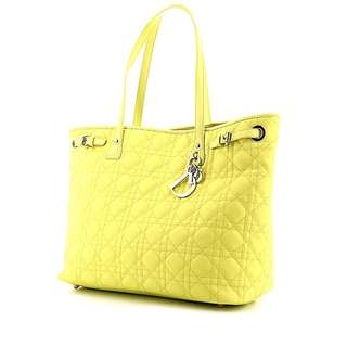 Dior Panarea Tote Bag in Yellow (Authentic)