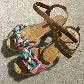 Tropical Bow Sandals