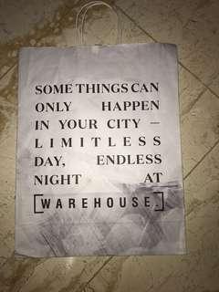 Warehouse paperbag