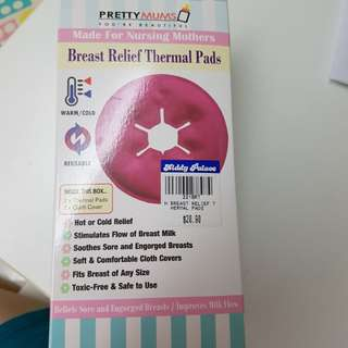 Breast relief thermal pads