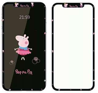 小豬佩奇/社會豬/Peppa Pig(mon貼)screen protector