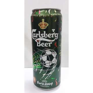 Limited Edition Carlsberg EURO 2004 - Portugal Can