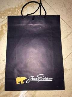Jack nicklaus paperbag