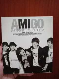 "Shinee the 1st album ""Amigo"" Taiwan special edition"