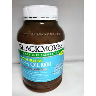 【包郵】澳洲Blackmore Fish Oil無腥味魚油1000
