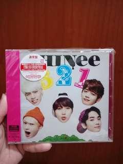 "Shinee ""321"" Japan ver"