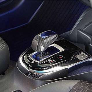 Honda Hybrid Carbon Fibre / Metal black shift/gear knob cover (Japan)