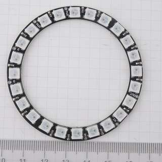 NEOPIXEL 5050 RGB LED Ring Lamp Light 24 Bits for Arduino Raspberry Pi