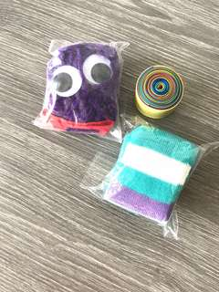 BN D.I.Y Sock Puppet & Coloured Streamers