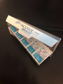 Acuvue Moist with Lacreon (Daily Lenses)