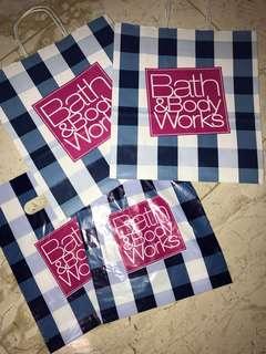 Bath & Body works paperbag