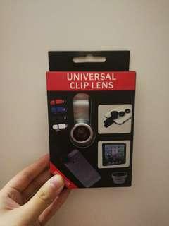 Fish Eye Lens, universal clip lens