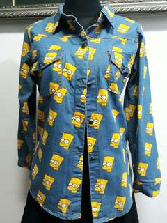 Bart simpson long sleeves