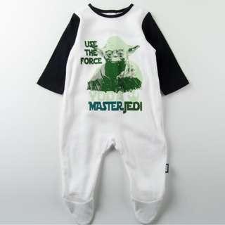 Starwars Yoda Master Jedi Sleepsuit
