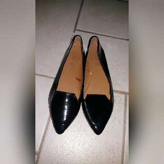 Rubi by Cotton On Black Loafer Flats