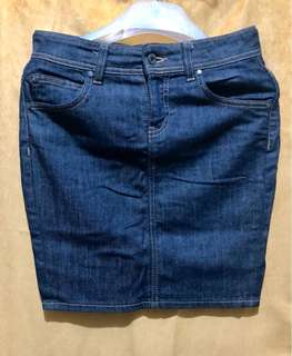 Calvin Klein Denim Mini skirt (Size 26)
