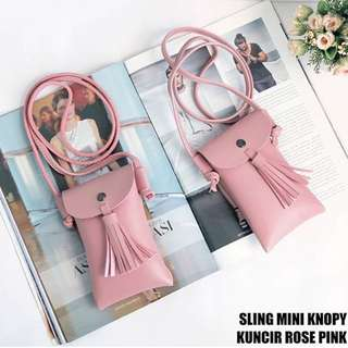 Sling mini knoppy hitam