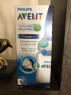 AVENT classic+ 9oz feeding bottle ( New )