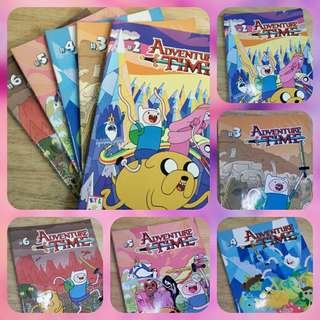 Adventure Time Comic Books (preloved)