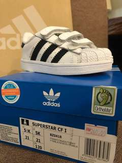 Adidas Superstar (for baby size UK5)