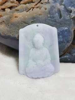 ⭐Pendant GradeA Myanmar Jade (阿弥陀佛菩萨)