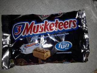 3 Musketeers Funsize Pack