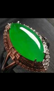 Jade Ring翡翠18K戒指