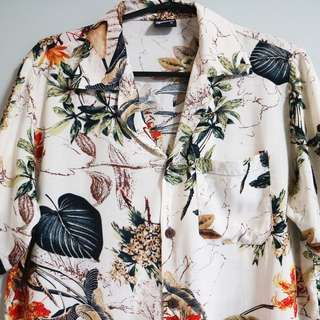 Men's Hawaiian Collar Shirt