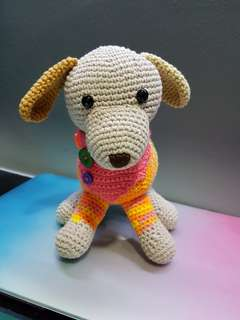 Crocheted Dog Huggies