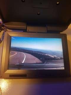 "Roof Mounted Overhead Monitor (9"" Grey)"