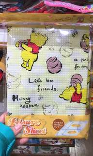 日本現場連線 即場代購 包平郵 野餐坐墊 play mat 坐地下睇巡遊用 winnie the pooh tsum tsum leisure sheet