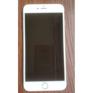 PRICE REDUCED! Beautiful Gold Iphone 6 + in great condition!