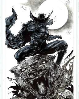 Black Panther 11 x 17 OA