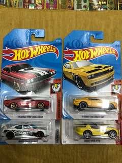 Hot Wheels Dodge Lot