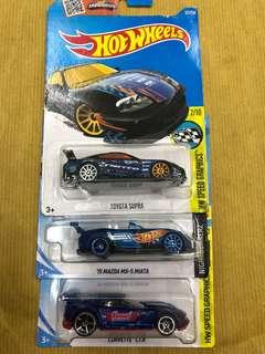 Hot Wheels Toyota Supra Lot