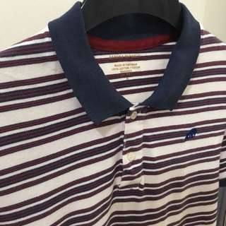 Banana Republic Striped Polo Shirt