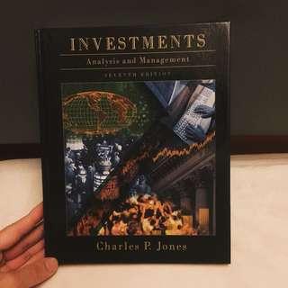 Charles P. Jones Investments: Analysis And Management