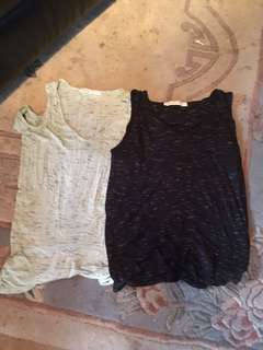 Two women small tops