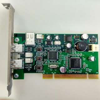 IEEE 1394  FireWire card PCI