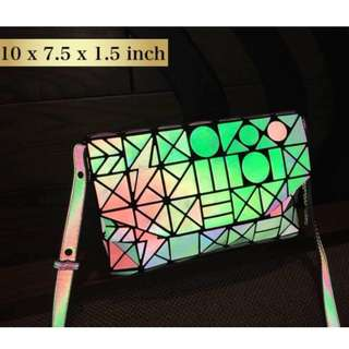 Baobao Inspired CLUTCH with Sling - Pattern 1