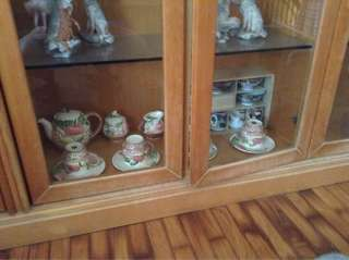 English hi tea set