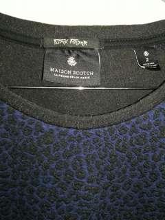 Maison Scotch long sweatshirt, size 2