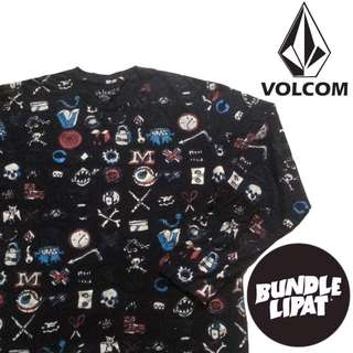 Volcom Long Sleeve Tshirt (Slim Fit) Size L MADE IN USA